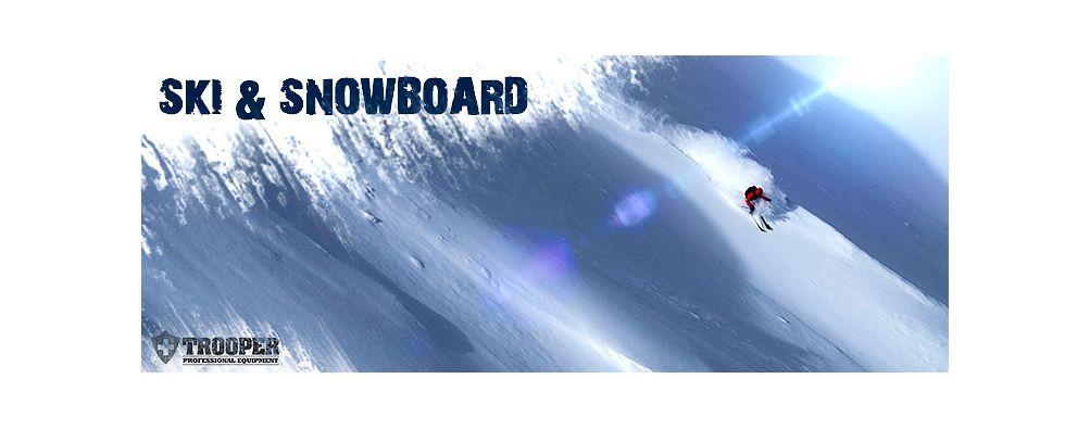 Ski & Snowboard (Whiteline Shelljacken)