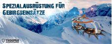 Petzl Intervention Ausrüstung Gebirgseinsatz