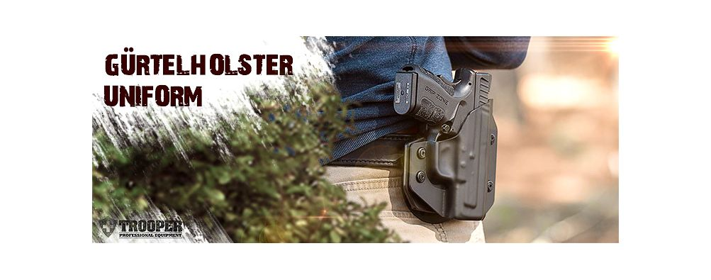 Alien Gear Holster - Gürtelholster - Uniformholster - TROOPER