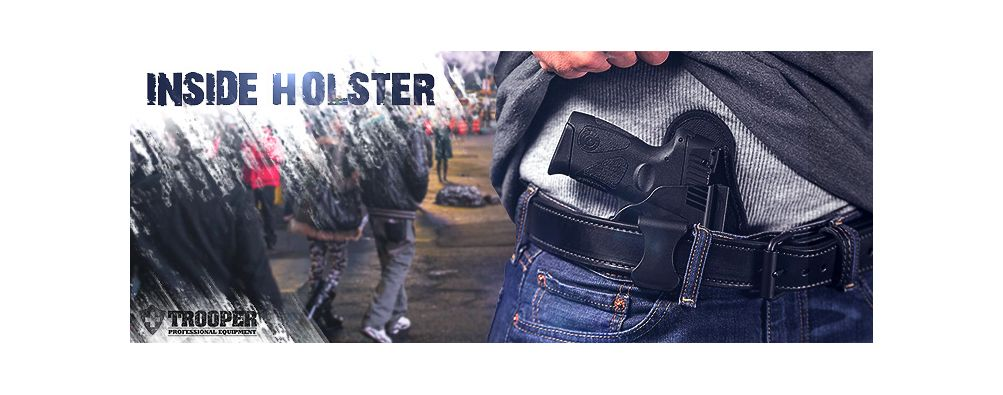 Inside Holster von Alien Gear Holster - TROOPER