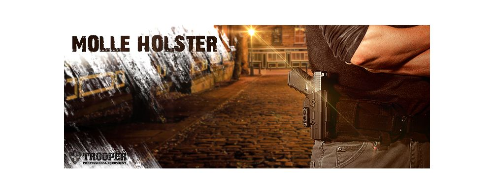 Taktische Molle Holster von Alien Gear Holster - TROOPER