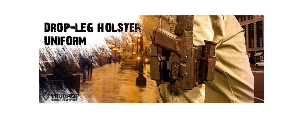 Drop-Leg-Holster von Alien Gear Holster - TROOPER