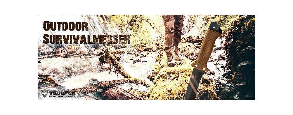 Outdoormesser und Survivalmesser online bestellen