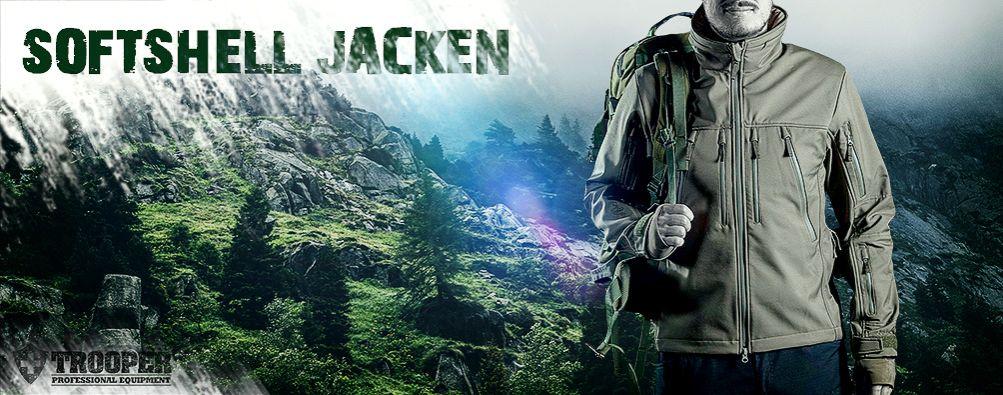 Softshell Jacke: Grosse Auswahl für taktischen Einsatz und Abenteuer
