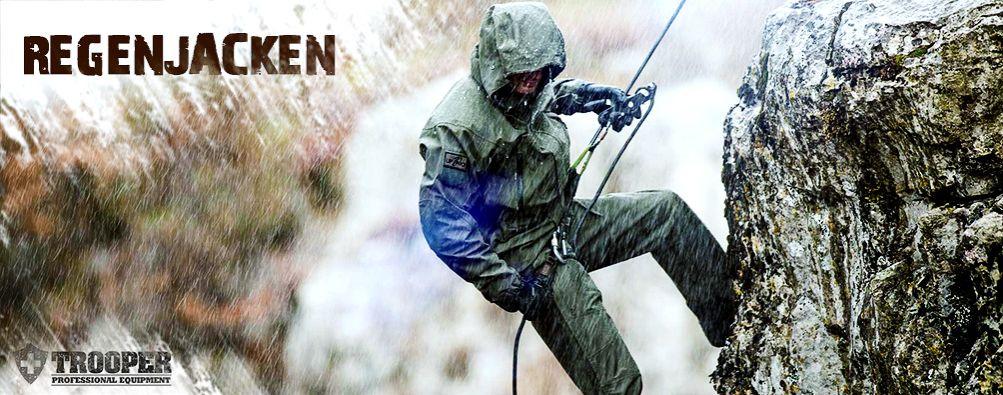 Regenjacke für takischen Einsatz und Abenteuer - TROOPER