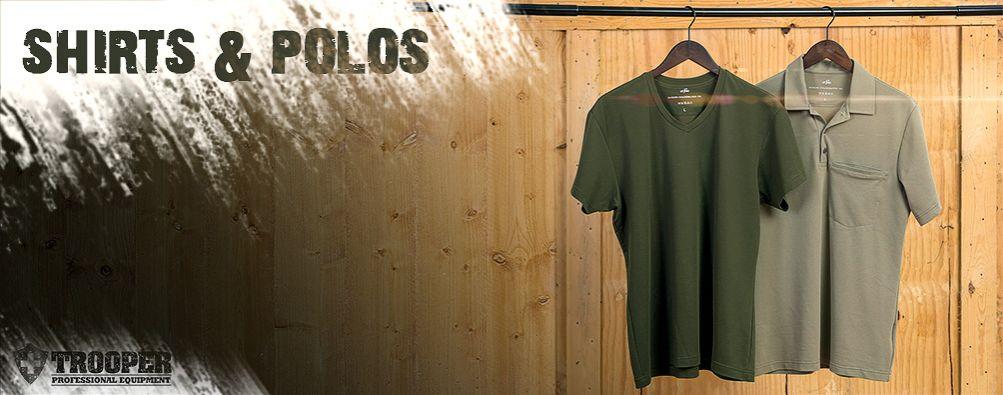 Shirts und Polos für Dienst oder Uniform