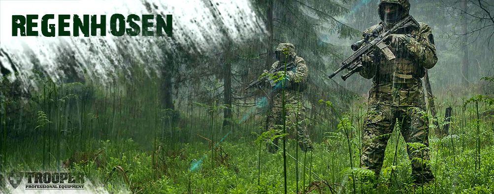 Regenschutzhosen, Regenhosen - alles gegen die Nässe
