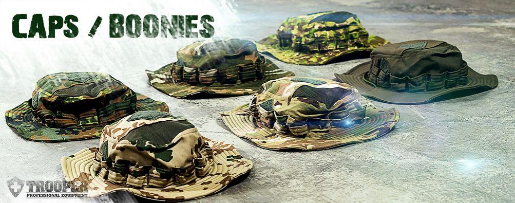 Caps und Boonies für taktische Einsatzkräfte