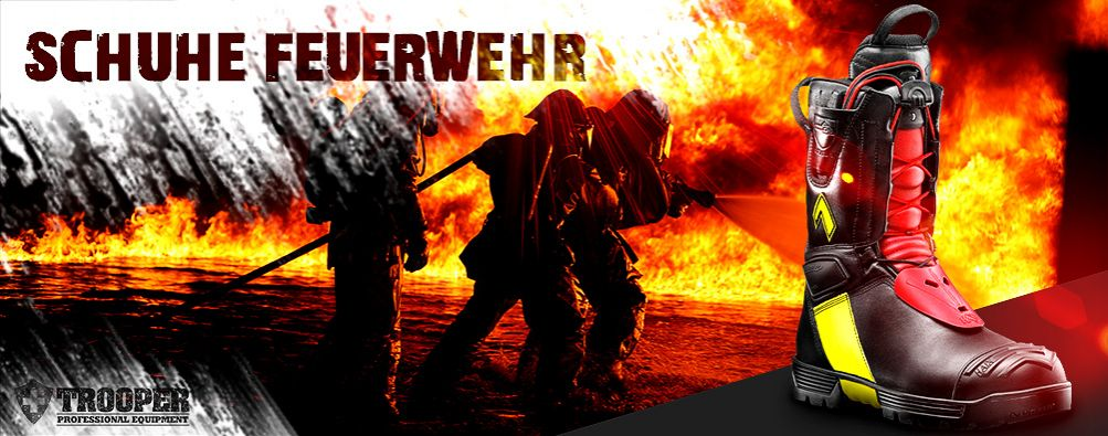 Feuerwehrstiefel - online bei TROOPER bestellen