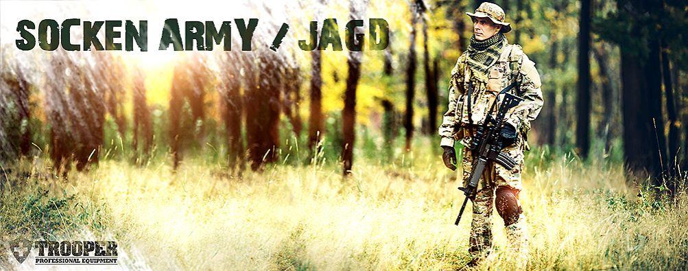 Socken Army / Jagd / Wandern