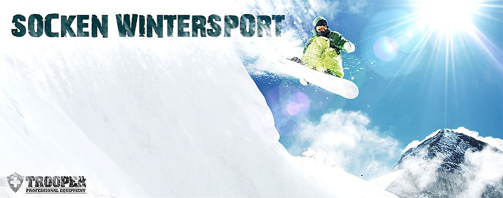 Socken Wintersport