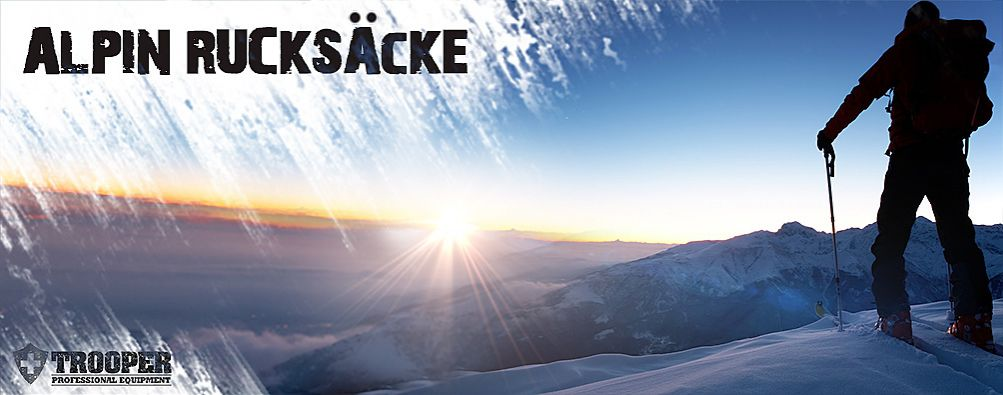 Alpin- / Kletterrucksack