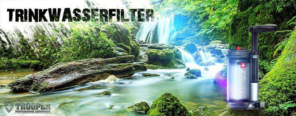Trinkwasserfilter, Katadyn, für Dein Outdoor-Abenteuer