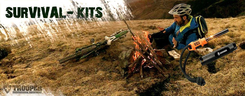 Survival Kit, Überlebens-Set für Dein nächstes Abenteuer
