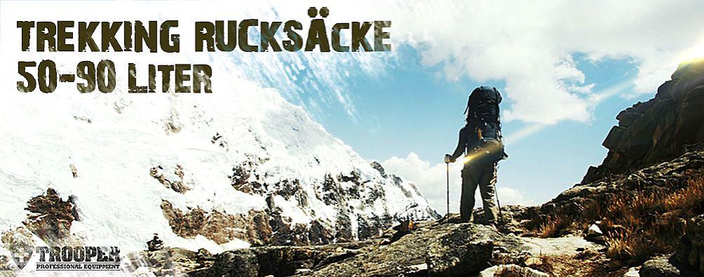 Trekkingrucksack 50-90 Liter