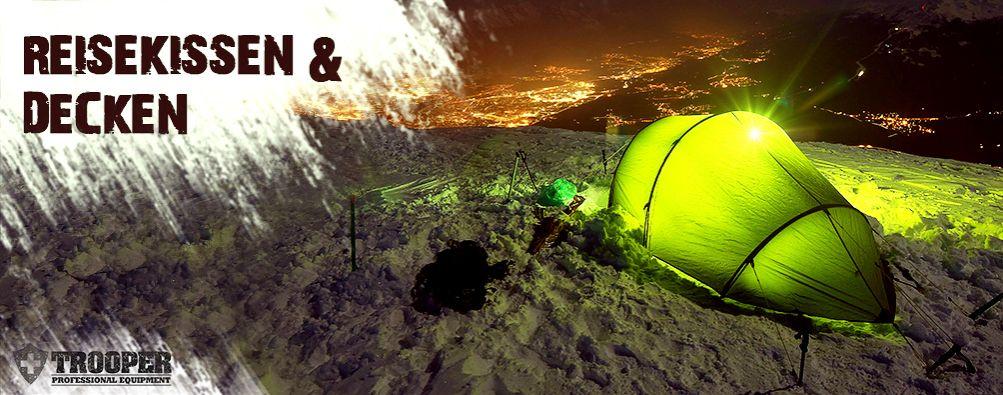 Reisekissen, Decke - Outdoor und Camping - TROOPER