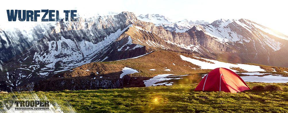 Wurfzelt: Praktische Zelte - online bei TROOPER