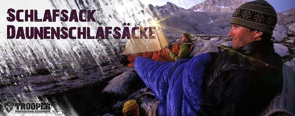Daunenschlafsack Outdoor