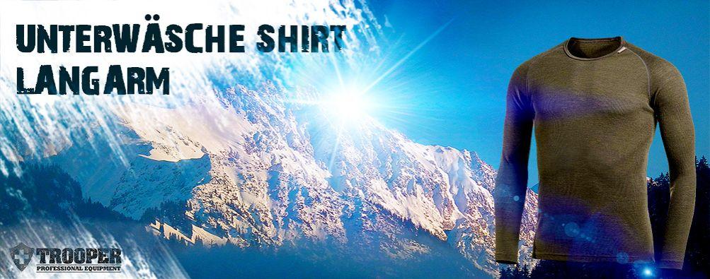 Langarm Shirt - Unterwäsche taktisch - TROOPER
