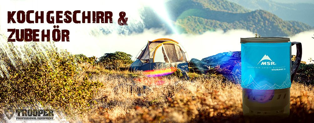 Kochgeschirr Zubehör fürs Camping - TROOPER