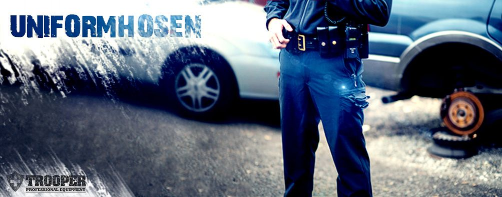 Uniformhosen für die Dienstbekleidung