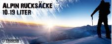 Alpin-Rucksack 10-19 Liter