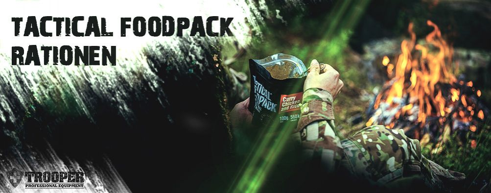 Tactical Foodpack Rationen - Trekking Food - Notvorrat