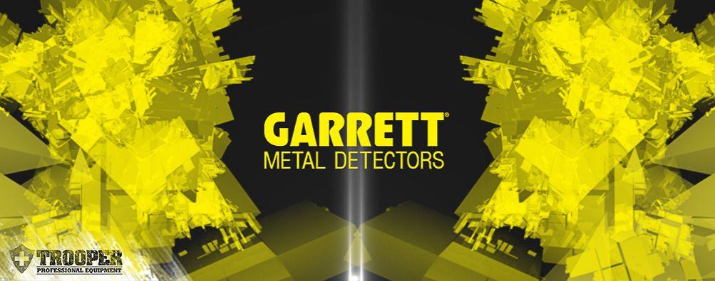 GARRETT - Metalldetektor - Sicherheitskontrolle - online bei TROOPER