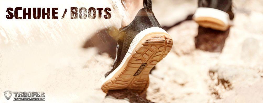 Schuhe für den taktischen Einsatz von VIKTOS - online bei TROOPER