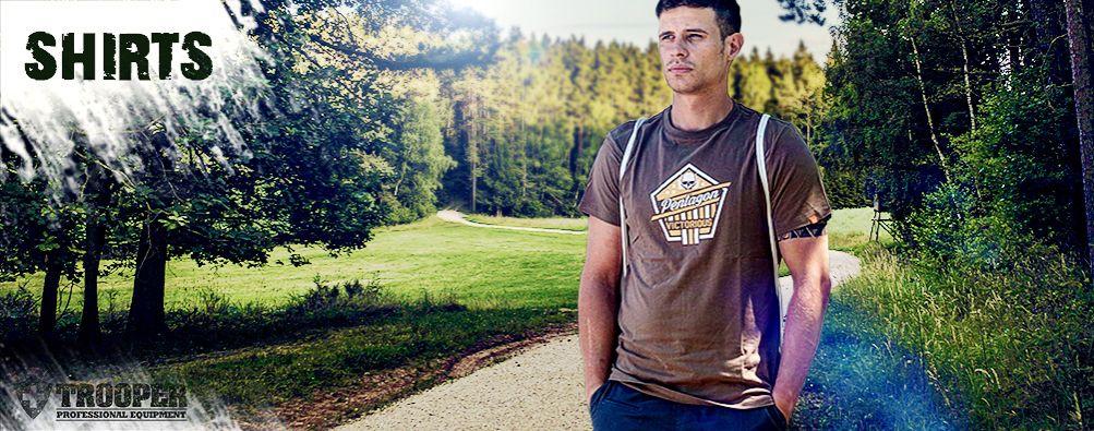 PENTAGON T-Shirts und Polo in der Schweiz - online bei TROOPER